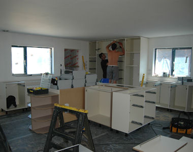 More Kitchen Fitters Work