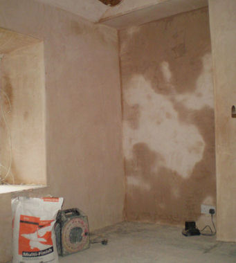 Example Plastering London Job