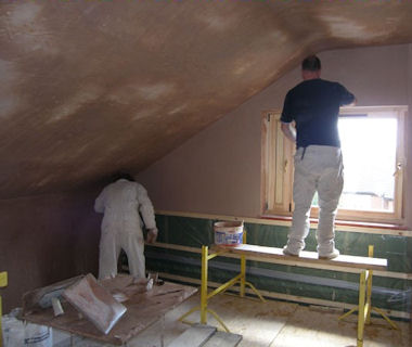 Another Plastering London Job