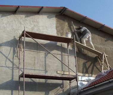 External Plastering in London