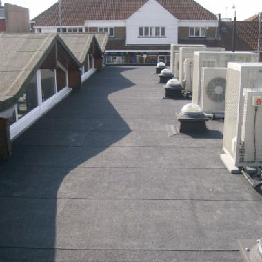 Flat roofing in London